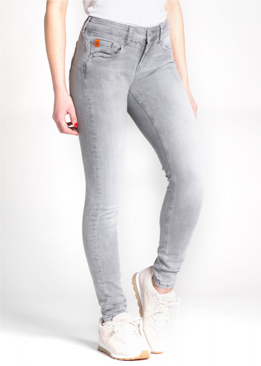 Miracle of Denim Ellen Skinny Fit, Rain Grey