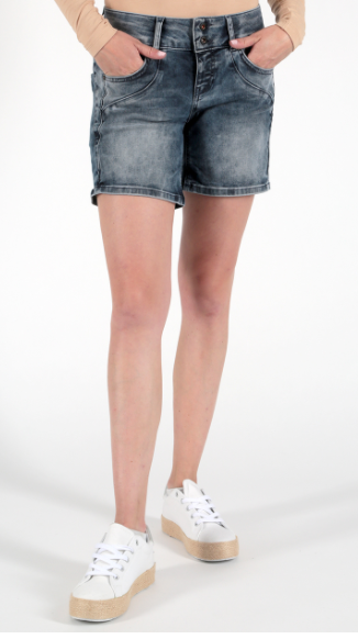 Miracle Of Denim Serena Shorts Michigan Blue